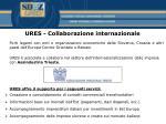 ures collaborazione internazionale