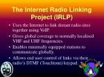 the internet radio linking project irlp