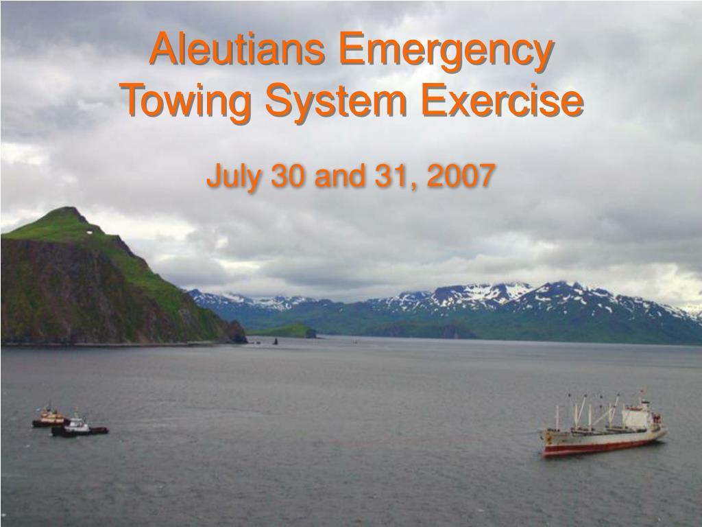 Aleutians Emergency
