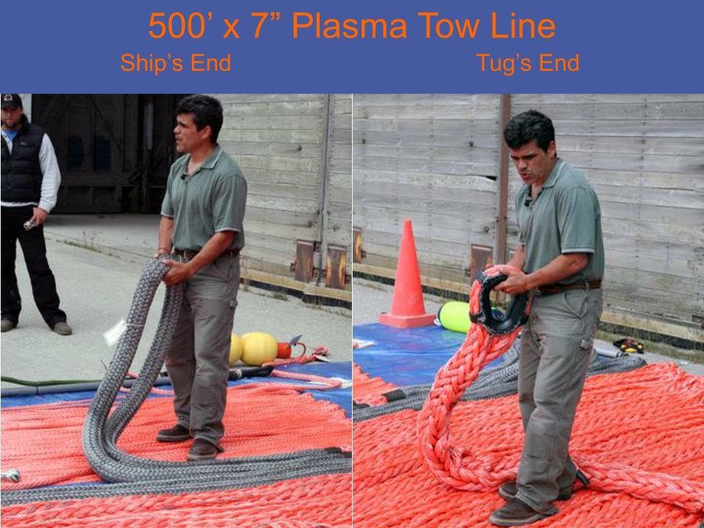 """500' x 7"""" Plasma Tow Line"""