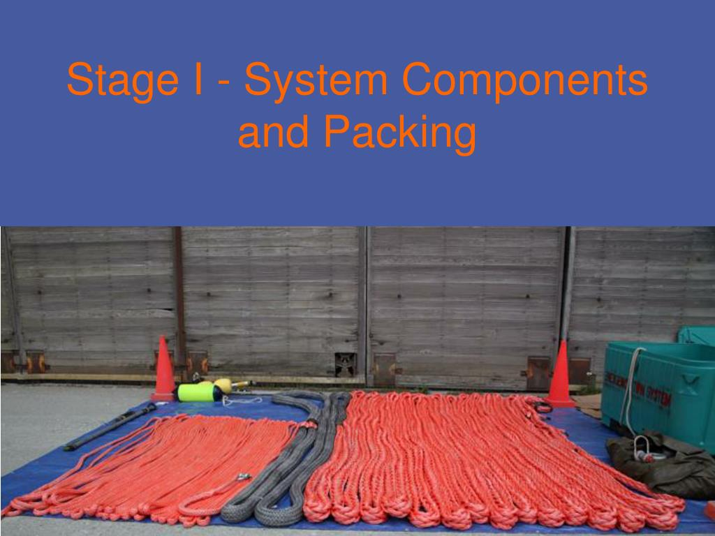 Stage I - System Components
