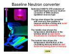 baseline neutron converter