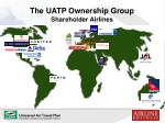 the uatp ownership group shareholder airlines