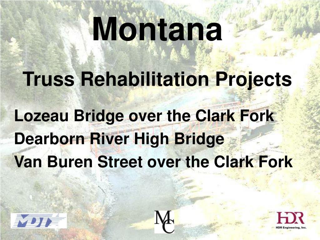 montana truss rehabilitation projects l.