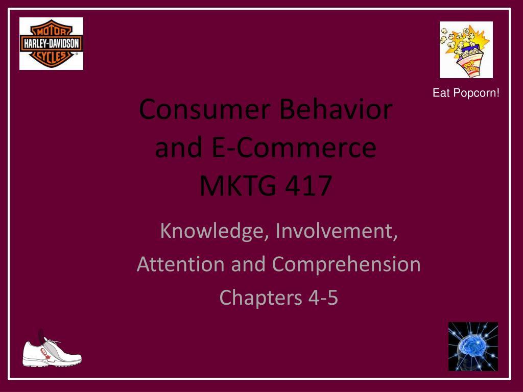 consumer behavior and e commerce mktg 417 l.