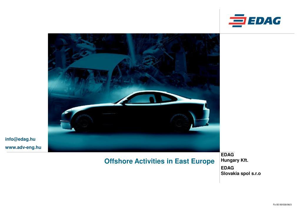 offshore activities in east europe l.