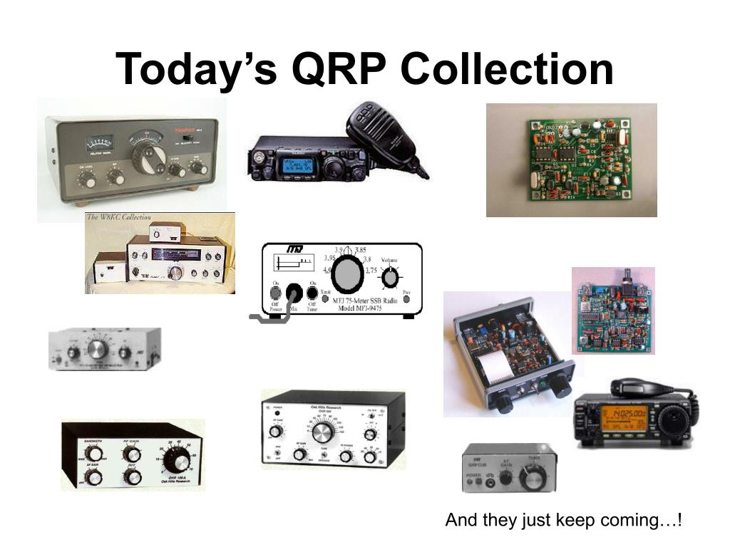 Today's QRP Collection