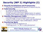 security wp 2 highlights i