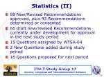 statistics ii