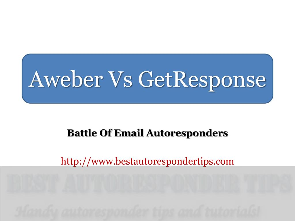 battle of email autoresponders http www bestautorespondertips com l.