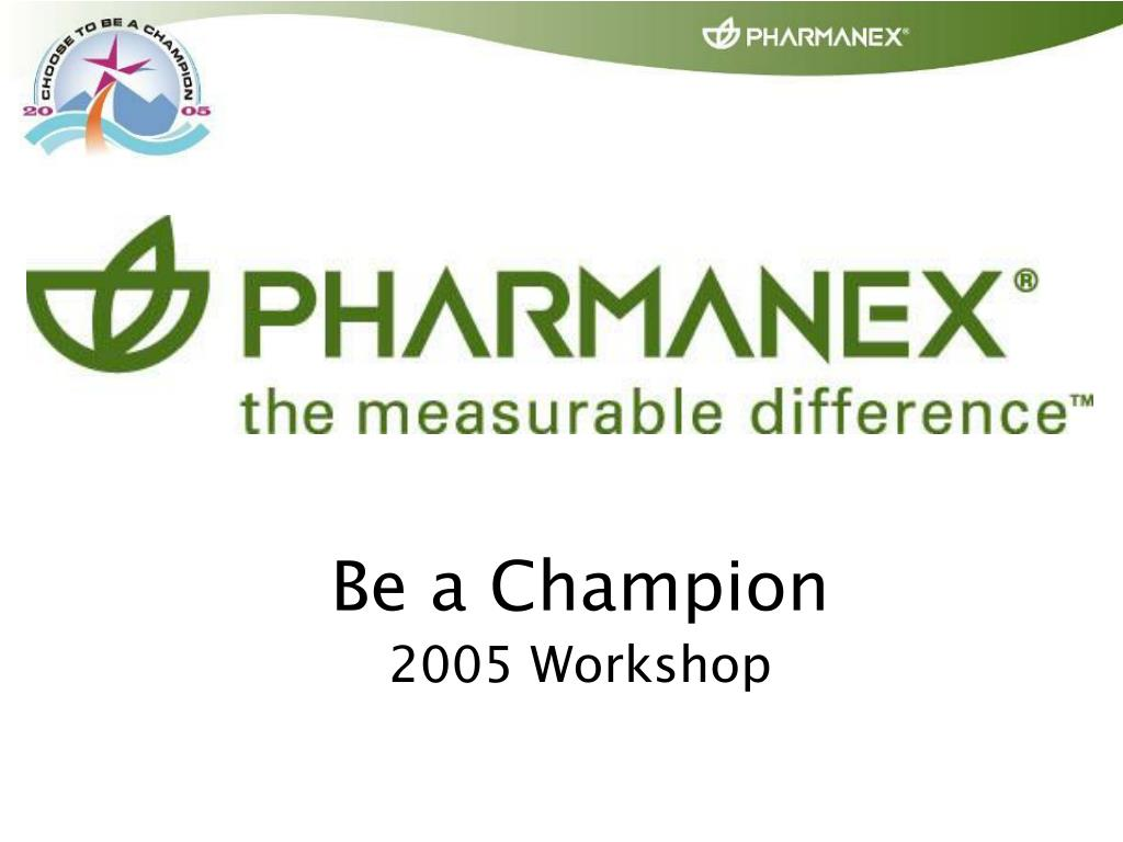 be a champion 2005 workshop l.