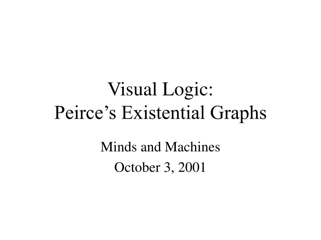 visual logic peirce s existential graphs l.
