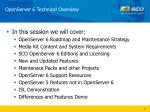 openserver 6 technical overview