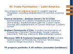 ec trade facilitation latin america