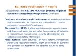 ec trade facilitation pacific