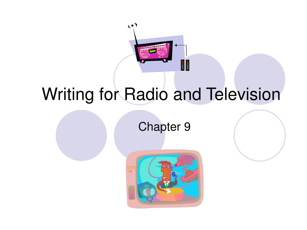 writing for radio and television l.