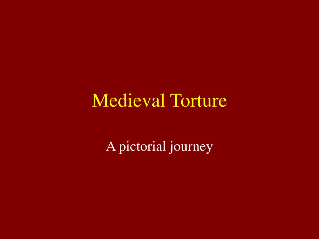 medieval torture l.