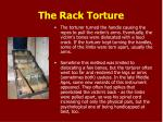 the rack torture