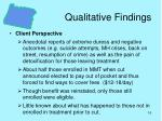 qualitative findings16