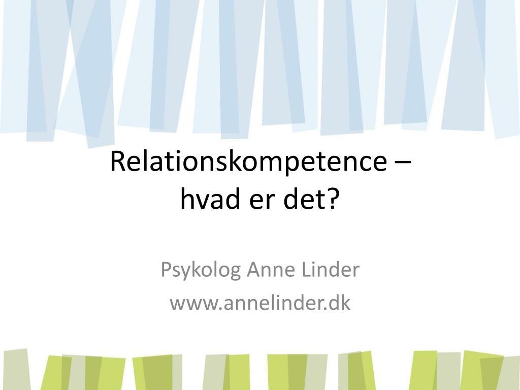 relationskompetence hvad er det l.