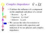 complex impedance32