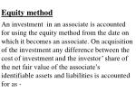 equity method34