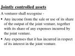jointly controlled assets48