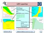 lep2 searches