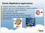 elastic mapreduce applications