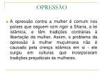 opress o
