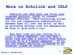 more on echolink and irlp