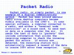 packet radio