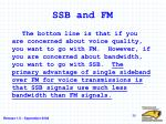 ssb and fm