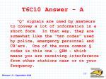 t6c10 answer a