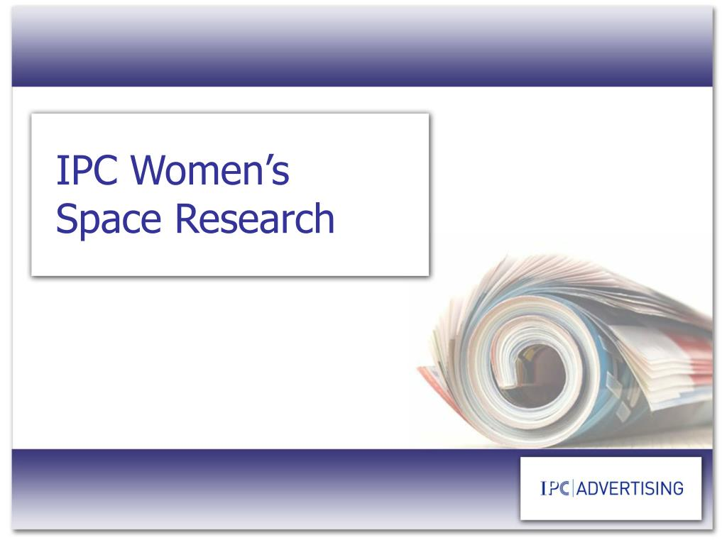 IPC Women's Space Research