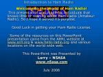 introduction to ham radio59