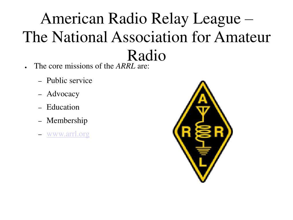 American Radio Relay League –