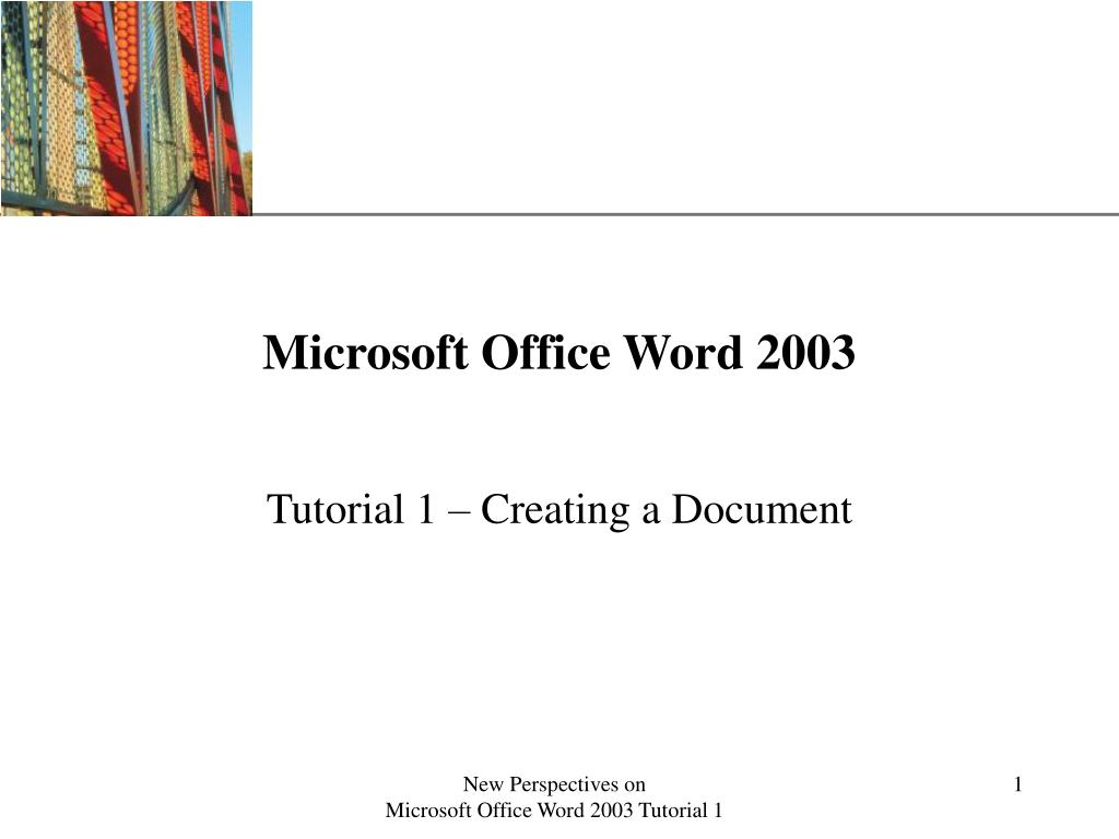 microsoft office word 2003 l.