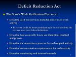 deficit reduction act6
