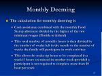 monthly deeming57