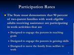 participation rates11