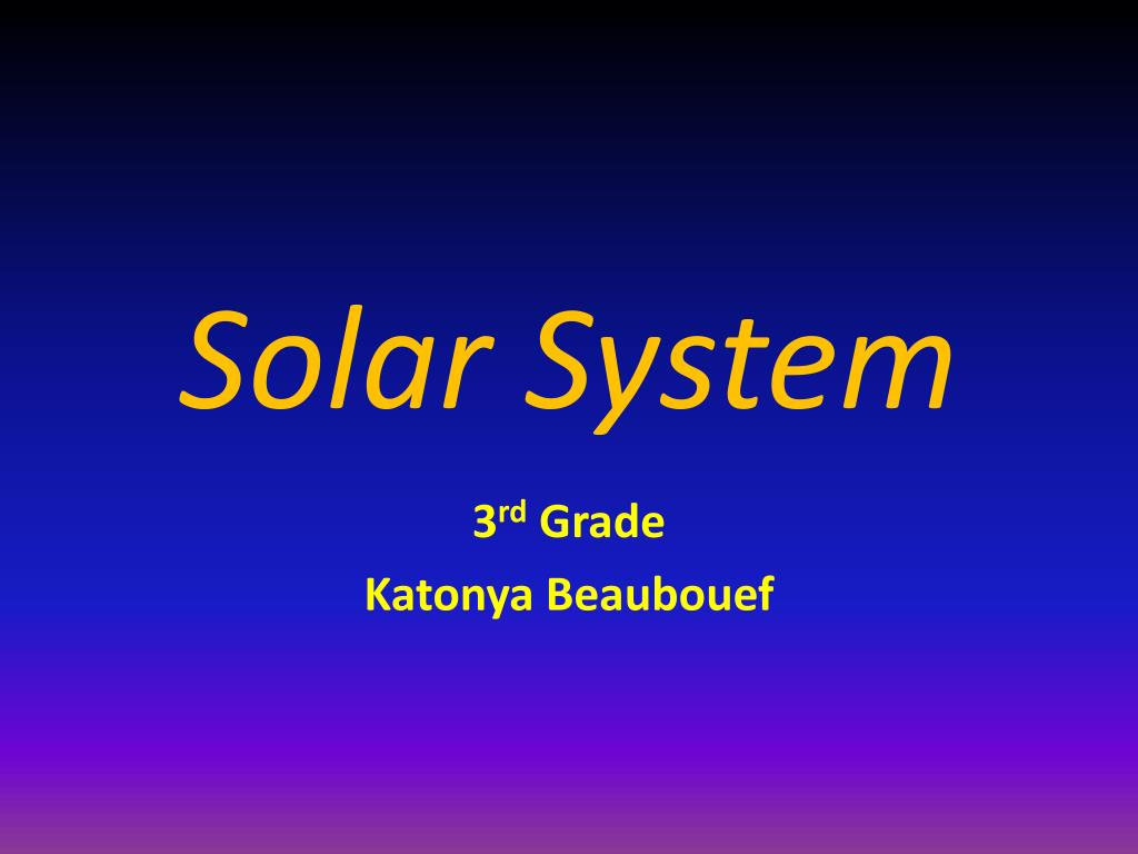 solar system l.