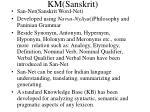 km sanskrit