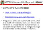 uspacom sponsored m s community