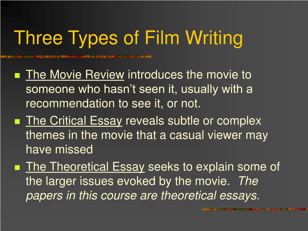 essay on classification of movies Movies all video latest this just in prelinger archives democracy now occupy wall street tv nsa clip library  essay on classification item preview remove-circle.