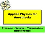 applied physics for anesthesia