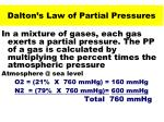 dalton s law of partial pressures32