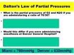 dalton s law of partial pressures34