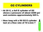o2 cylinders