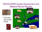 hedis qarr quality assessment and medical record review26
